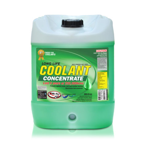 Long life coolant green